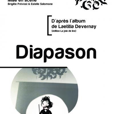 Affiche spectacle diapason